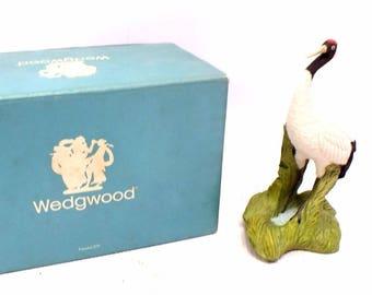 Vintage MAZAK Wedgwood Bird Ornament