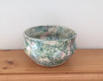 Vintage Palm Tree Pottery Company Dish