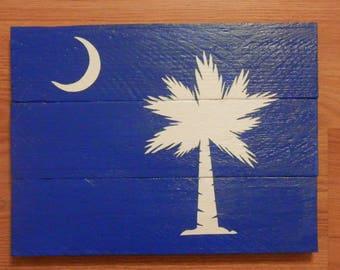 State Flag Pallet Sign