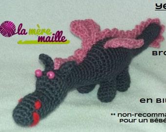 Dragon plush, custom-made creation