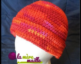 Hat for adult, autumn hat, winter hat, creating a custom-made