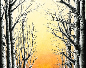 The Sunny Side of Life  Giclee Print
