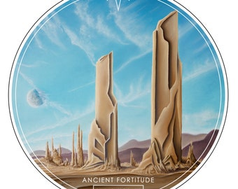 Ancient Fortitude Sticker