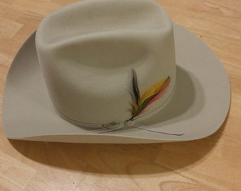 50ced4ebaed Vintage Stetson Cowboy Hat 1980 s XXXXX Stetson