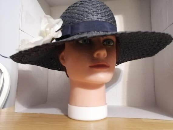 M'sieu  Leon Women's Hat, Vintage Hat, 1940's, Flo