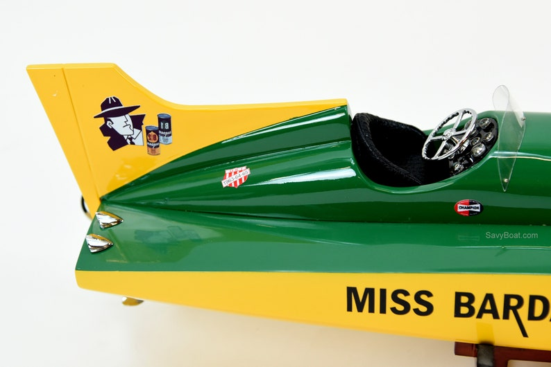 U-40 Miss Bardahl Unlimited Hydroplane Racing Boat Model 26
