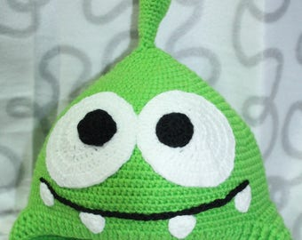 Om Nom, Om Nom baby cap, warm hat for the baby, hat for the child, cap Om-Nom , cartoon, cartoon character