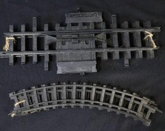 Plastic Train Tracks