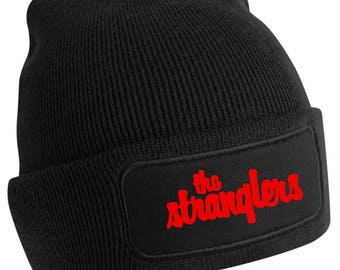 The Stranglers 'Classic Logo' Beanie Hat by Ameiva Apparel