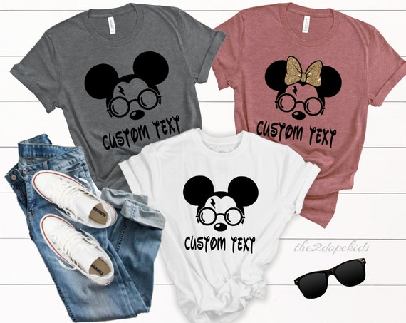 Harry Potter Universal Studios Disney 2019 Disney World Disneyland Disney Family Vacation Shirts Mickey Disney Matching Disney Shirt Family