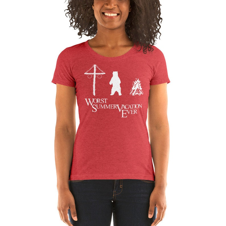 Worst Summer Vacation Ever Women's Adult Slim-Fit image 0