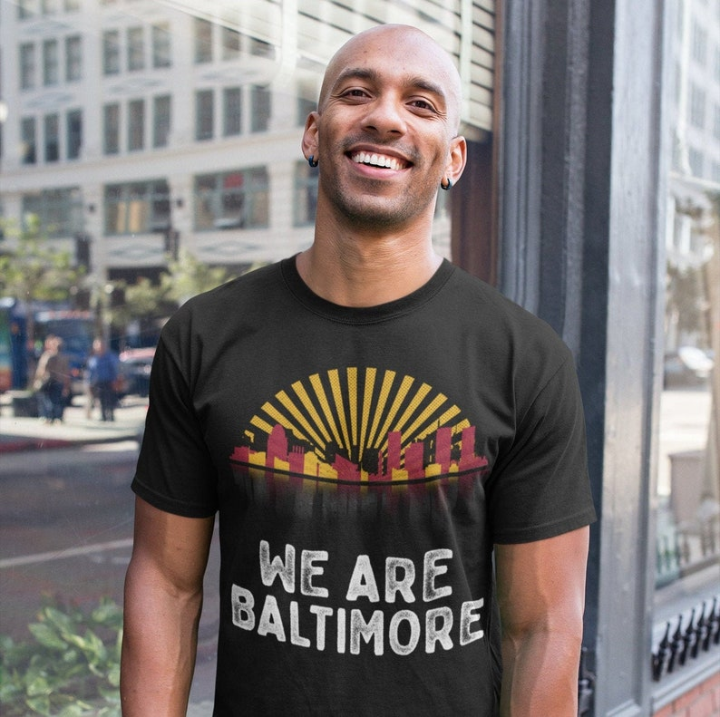 We Are Baltimore Adult Unisex T-Shirt image 0