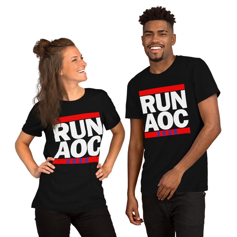 Run AOC 2028 Adult Unisex T-Shirt image 0