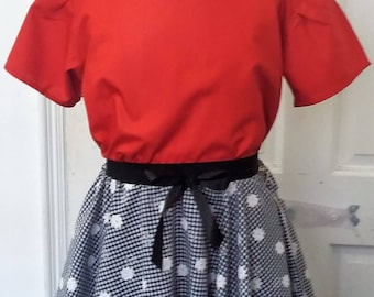 Children's Top and Skirt
