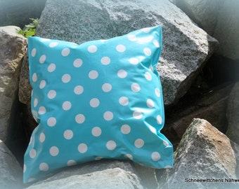 Outdoorkissen Kissen aus Wachstuch für draußen fertig   Etsy
