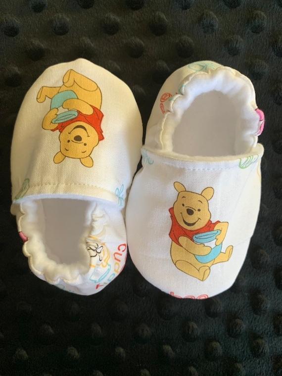 Winnie The Pooh Crib Shoes Slippers