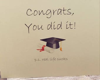 funny graduation card funny cards congratulations card graduation gift funny greeting cards graduation card graduation sarcastic card