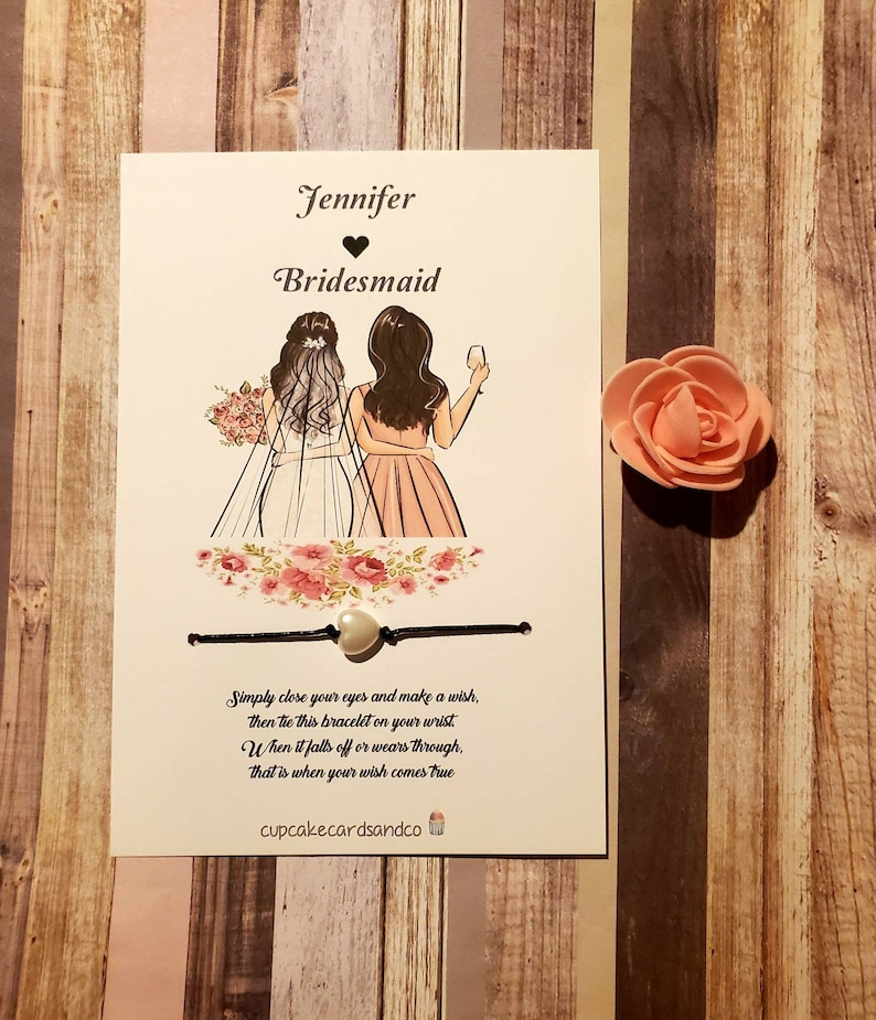 Maid of Honor Bridesmaid funny bridesmaid card personalized wedding card Will You Be My Bridesmaid Cards? Bridesmaid Proposal