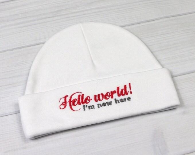 Newborn hat - Hello world I'm new here