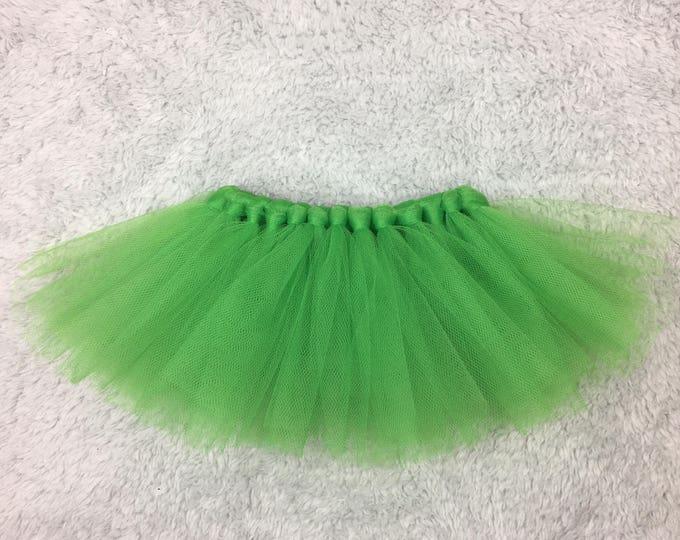 Preemie tutu - green