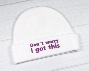 Baby hat for the NICU or PICU - I got this