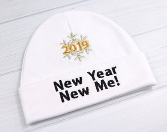 New Year baby hat - 2019 baby hat