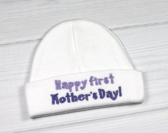 Mother's Day baby hat