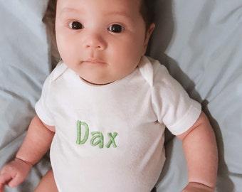 Personalized baby bodysuit - preemie / newborn / infant