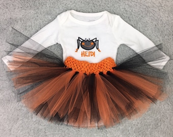 Preemie Halloween outfit with tutu