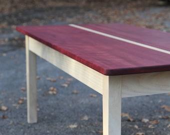 Purpleheart Table Etsy