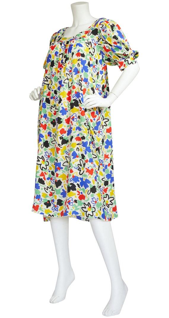 Pacabu' 1970s Raffaella Curiel Vintage Floral Abst