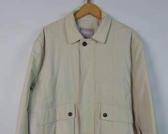 Vintage Stone Bomber Jacket
