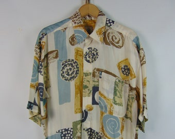 Vintage Unique Pattern Shirt