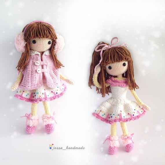 Crochet Doll Pattern Amigurumi Doll Pattern Icelyn PDF Etsy Enchanting Amigurumi Doll Pattern