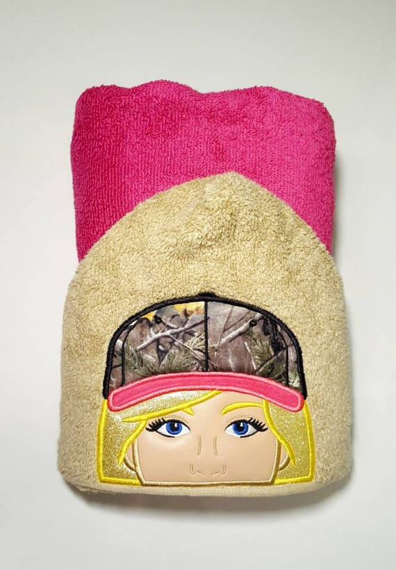 Kids Hooded Bath Towel Boys Christmas Gift Hunter Hooded Towel Daddy/'s Hunting Buddy First Hunting Trip Camo and Orange