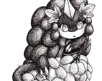 Puzzle & Dragons: Grape Dragon [ORIGINAL]