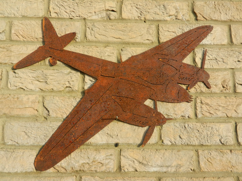RAF Mosquito plane Wall Decor / De Havilland Mosquito / Wooden | Etsy