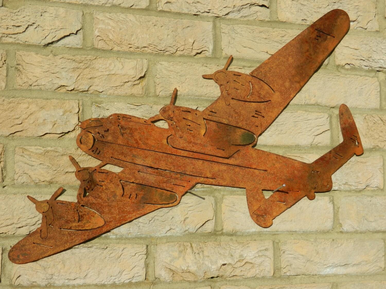 Lancaster Bomber Wall Art / WW2 Gift / WWii Lancaster Plane / | Etsy