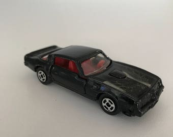 Vintage Hot Wheels Car, Black Hot Wheels, Hot Wheels Fire Bird Transam, Collectable Toy Cars, Fire Bird Toy Car