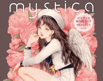 mystica Coloring Book Japanese Craft Book coloring book DADACHYO