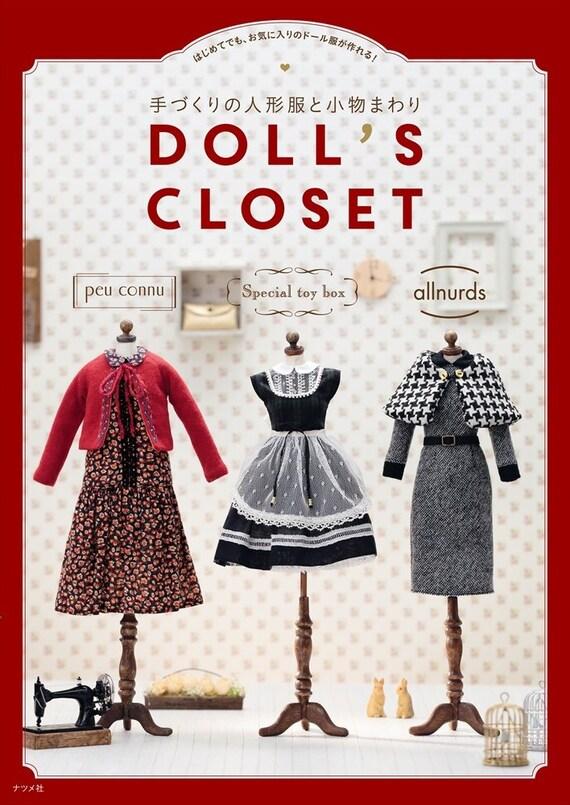 Der Puppe Schrank japanische Handwerk Bücher Nähen Muster | Etsy