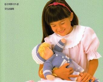 WALDORF DOLLS BOOK Japanese Craft Book doll Waldorf Sweden