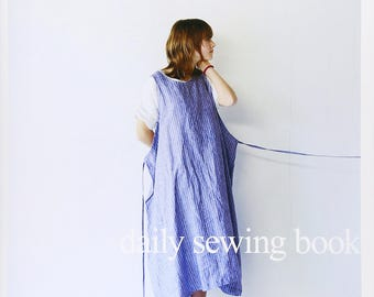 DAILY SEWING BOOK - Japanese Pattern Book Japanese book pattern Sewing book dresses jackets skirts