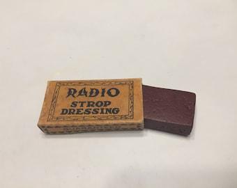 Radio Strop Dressing (Razor Honing)