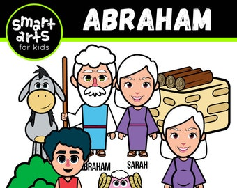 Abraham Clip Art - bible based - bible characters - abraham clip art - bible story - old testament - bible story - SVG Cricut