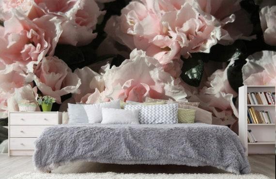 Details about  /3D Cute Pink Flower 84 Wallpaper Murals Floor Wall Print Decal Wall Sticker AU