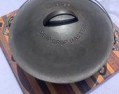 Vintage Wagner Ware Drip Drop Round Roaster Dutch Oven Size 9 1269 Cast iron