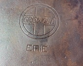 Vintage Griswold Slant Logo 12 719 with Heat Ring and Ghost Mark