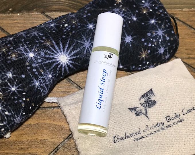 Featured listing image: Liquid Sleep Essential Oil Roller - Natural Sleep Aid, Aromatherapy Roller, Organic Sleep Assistant, Organic Sleep Oil, Natural Sleep Oil