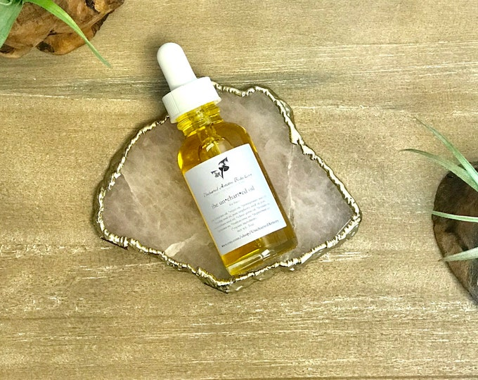 Featured listing image: Face Serum, Anti Aging Facial Oil, Sensitive Skin, Acne, Moisturizing Oil, All Natual, Lavender Face Oil, Organic Body Care, 0.5oz